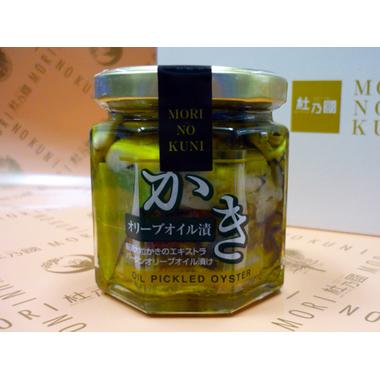 かきのオリーブオイル漬 商品パッケージ